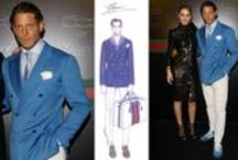 Italy Luxury Expo/ Men Clothing, Suits Pavilion / Italian luxury men clothing, suits, jackets