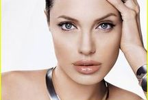 Angelina Jolie / A serene movie goddess who's the sweetheart of a beloved Hollywood hunk? That would be Angelina Jolie ...
