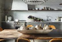 Kitchen Tile Backsplash Inspiration / Here is a collection of our favorite kitchen tile backsplash inspirations and design installations.