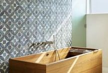 Bathroom Tile Inspiration / Here is a collection of our favorite bathroom tile inspirations and design installations.