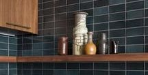 Fireclay Tile Colors: Grays / Fireclay Tile color inspiration featuring our contemporary grey tile hues.