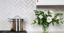 Fireclay Tile Colors: Whites / Fireclay Tile color inspiration featuring our white and bright tile hues.