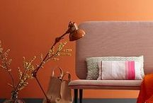 Fireclay Tile Colors: Orange & Red / Fireclay Tile color inspiration featuring our vibrant orange & red tile hues.