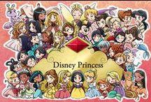 Disney Princesses / by Rayna