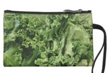 Kale Fashion and Fun / Who says kale is just for eating? Let's have some fun with our favorite superfood! San Miguel Produce grows it, and we'll wear it, too.  :)