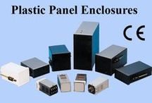 DIN Panel Plastic Enclosures / Wide Range: 96x96x65,110,150. 96x48x65,110.150. 96x192x200, 48x48x90. 48x24x90,72x72x110. #GaurangEnclosures  Application :  Analog / Digital Instruments Man-machine interface equipment Process indicator and controllers like Temp indicator, controller, Timers, Counters Measuring indicating and control technology.