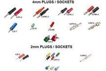 Banana Plugs & Sockets / #PLUGS & #SOCKETS 2MM & 4MM #GaurangEnclosures