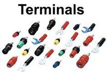 Terminals / #Binding #Post #Terminals & #pade #Terminals #GaurangEnclosures