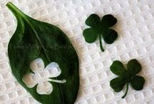 St. Patrick's Day -- keep it naturally green! / No need for green food coloring when you have natural greens for your St. Patrick's Day food! Check out all these delicious ideas. Keep it green, people.