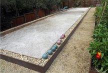 Yard ~ Sports Yard / Inspiration for alternate Tennis Court use