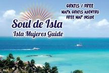 Isla Mujeres Tourist Guide #5 / This guide is all about Isla Mujeres of course!  Full with a map, a restaurant and bar guide, things to do and see and so much more!