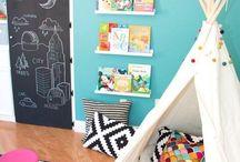 Lullaby Lane: Kids Playrooms / Fun, colourful, amazing kids playrooms!