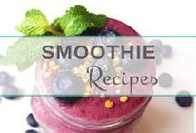 Smoothie Recipes / Delicious & nutritious smoothies for every day life that are mostly dairy, gluten & sugar-free.