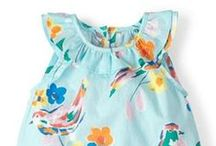 Lullaby Lane: Baby Rompers / Cute, sweet baby rompers. Lots of colour and cuteness!