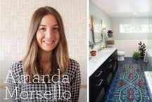 Meet the Dream Team: Amanda / Members of our online Dream Team are here to share their favorite styles and inspirations.  / by Fireclay Tile