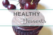 Healthy Dessert Recipes / Deliciously nourishing sugar, gluten & dairy-free desserts that are made with whole, unprocessed ingredients. Simple recipes!