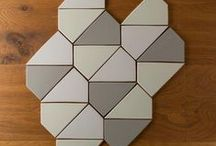 Top 5 Tile Trends of 2016 / Geometric patterns, square tile, contrasting grout, saturated color and larger format tile are 5 of the trends we're thinking will be big in 2016.
