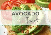 Avocado Toast Recipes / A board filled with all my favorite recipes and topping ideas for avocado toast! A delicious and healthy breakfast idea.