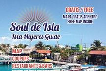 Isla Mujeres Tourist Guide 7 / Learn all you need to know about Isla Mujeres with us at Soul de Isla.  Visit our facebook page, website or send us an email and we'll be happy to answer any questions you may have.  WWW.SOULDEISLA.COM