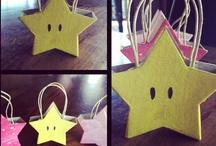 Mario Birthday Party Ideas / Ideas I borrowed & created for my son's 7th birthday party. He LOVES Super Mario Bros.