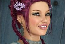 Wild Hair Color / Inspirational Artistic Hair