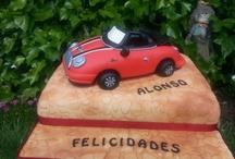 TARTA COCHE MINI / #tartas coches toledo; #tartas especiales Toledo; #tartas originales toledo; #tartas lujosas Toledo; #eventos Toledo; #tartas cumpleaños Toledo; #tartas originales Toledo
