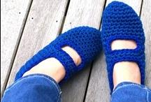 the blue chrochet board