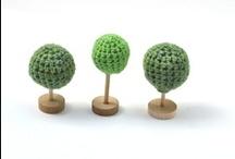 the green crochet board