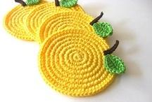 the yellow crochet board