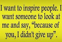 Inspiring People / Who are some of the people that inspire you to never give up?! / by Kellum Career Consulting