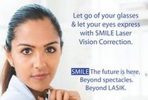 Smile Laser Vision Correction / ReLEx SMILE is an even more advanced technique than bladeless LASIK. It is 100% Bladeless, Flapless, All Laser technique for spectacle removal