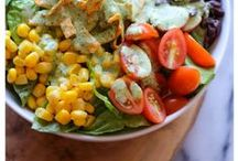 Delicious Salad Recipes / Delicious and healthy salad recipes the whole family will love. Made with healthy real food ingredients. Salad really can be delicious and cravable!