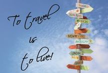 Travel Quotes / Collection of Travel Quotes that will inspire you to live everything behind and just go see the world!