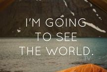 Wanderlust / See the world, even just the world around you. Be Spellbound Every Day.