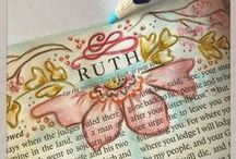 Bible journaling ideas / Get creative with some awesome ideas on bible journaling.
