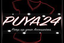 Puya24 - Pimp up your Accessoires / Wir bringen Ihre Ideen auf fast alle Materialien www.puya24.de