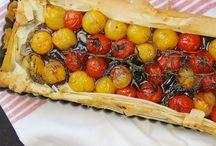 FOOD   Quiche und Tartes