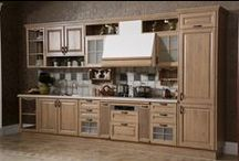 Line Type Kitchen Cabinet with PP Finish Model: OP13-301 / Modern Kitchen Cabinet with E1 grade of MDF Base Materials
