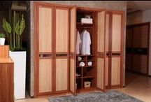 2013 Wardrobe Model:YG11303 / Bedroom Furniture Item Name: Light Gray Built-in Swing Doors Wardrobe | Closet Wardrobe Model: YG11303 Cabinet Material: E0 grade of MDF / Particle Board (Environment-friendly materials) Cabinet Material Finish: Melamine  Dimension Specification: 2700W*607D*2400H