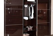 2013 OPPEIN Wardrobe Model:  YG11315 / Bedroom Furniture Item Name: Modern Built-in Brown Sliding Doors Wardrobe | Closet Wardrobe Model: YG11315 Cabinet Material: E0 grade of MDF / Particle Board (Environment-friendly materials) Cabinet Material Finish: Melamine  Dimension Specification: 2700W*600D*2400H