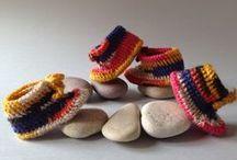 Botetes multicolor / Botetes multicolor fetes a mà per a infants