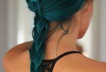 >Hair style<
