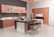 2014 OPPEIN Island Kitchen Cabinets Lacquer Finish Guangzhou Export / More: http://www.oppeinhome.com/product/kitchen-cabinet-op14-107?search=OP14-107