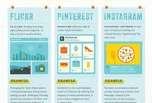 Marketing / Pins about social media marketing.