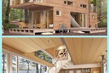 Shipping container houses / Small houses