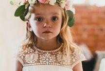 Flower Girl / Inspirational Imagery for Flower Girls.