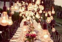 Wedding Decor / Inspirational Imagery for Decor.