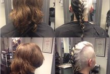 Hair transformations / All my creations from my job as a hairdresser