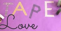 Tape Love / Bastelideen mit Tape DIY ideas with tape