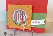 My Stampin' Up!® Favorites / Just a sprinkling of favorite SU! creations by some of my favorite SU! Bloggers and Stampin' Divas.